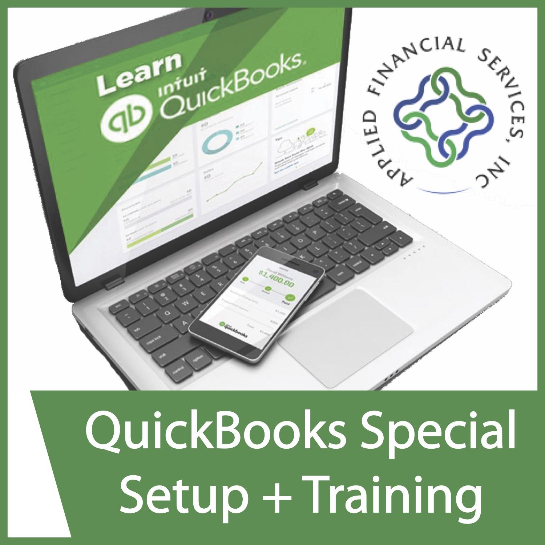 QuickBooks Special Setup + Training