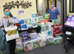 PPSC DIAPER DRIVE HELPED HUNDREDS OF MARIN FAMILIES